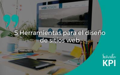 5 Herramientas para el diseño de sitios web