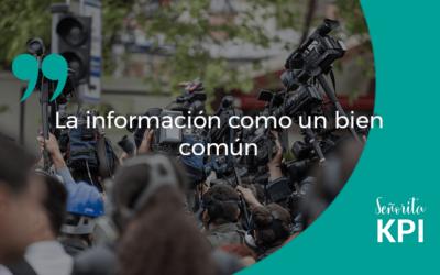 La información como un bien común